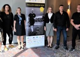 Yellow Ribbon Run tisková konference